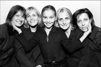Four Sisters, one daughter, New York City  © 2017 Keith Trumbo
