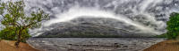 Loch Lomond panorama, Scotland © 2018 Keith Trumbo