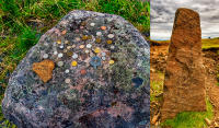 Henderson Stone, Glen Coe - Welcome Stone, Cuith Raing © 2018 Keith Trumbo