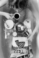 Bath with breakfast - Vogue  © 2017 Keith Trumbo