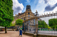 The Gates, Jardin du Luxembourg, Paris © 2019 Keith Trumbo