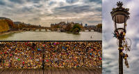 Padlocked in love, Pont des Arts © 2019 Keith Trumbo