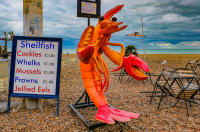Larry the lobster, Brighton © 2019 Keith Trumbo