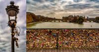 Locked in love, Pont des Arts, Paris © 2019 Keith Trumbo