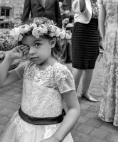 Young Bridesmaid, Montreal © 2019 Keith Trumbo