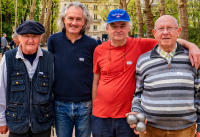 Pétanque Team, Paris © 2019 Keith Trumbo